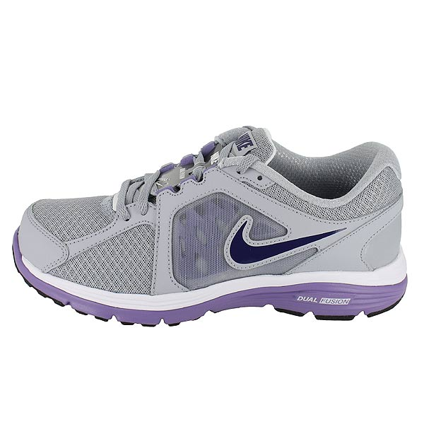 Details about NIKE WMNS DUAL FUSION RUN WOLF GREY PURPLE WOMENS US