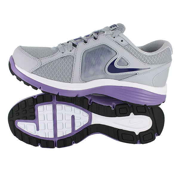 Details about NIKE WMNS DUAL FUSION RUN WOLF GREY PURPLE WOMENS US ...